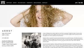 leedz salon website renae meines portfolio