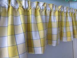 Hunter Green Kitchen Curtains by Blue And Yellow Kitchen Curtains Blue Yellow Window Pane Plaid