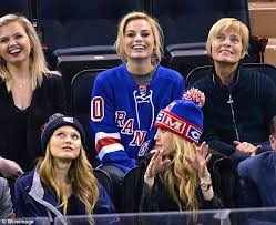 new york rangers fans in new york rangers jersey
