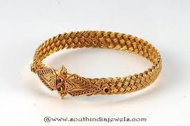gold vintage bracelet images Gold antique kada bangle from amarsons south india jewels jpg