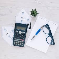 bloc note sur bureau bloc notes composé d immobilier sur le bureau télécharger