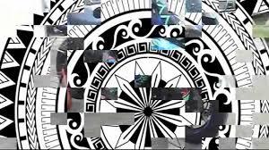 auto trim design polynesian tribal graphic wrap kit 2007
