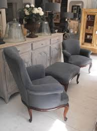French Armchair Uk Anton U0026 K Pair Of French Antique Armchairs With Footstool This