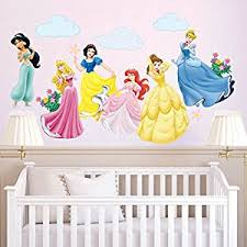 stickers fille chambre decalmile stickers princesse amovible diy autocollant stickers