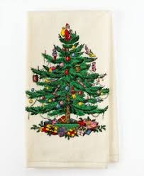 spode tree linen 16 inch pillow trees
