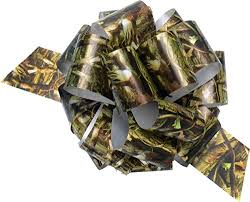 camo gift wrap next camo 5 inch pullbows 3 per pack haverc gift wrap
