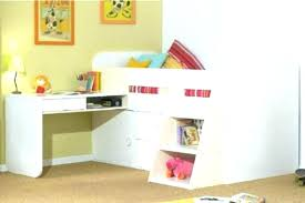 Kid Bed With Desk Bunk Bed Office Underneath Bed Desks Bunk Desk Combo Beds With