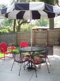 patio furniture small patio table set with umbrella holesmall