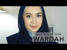 review tutorial makeup sehari hari wardah one brand makeup tutorial natural simple swatches 12