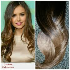 Black To Brown Ombre Hair Extensions by Hair Extensions Balayage Extensions Balayage Sombre