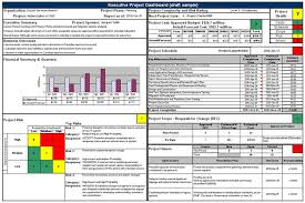 guide to executive project dashboards canada ca