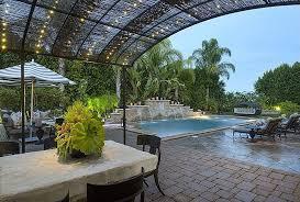 Kris Jenner Backyard Khloe U0026 Lamar U0027s Mansion For Sale