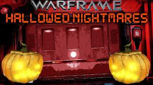 hallow ween warframe hallowed nightmares h u0027ween event youtube