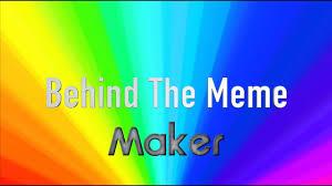 History Channel Meme Maker - behind the meme maker on windows youtube