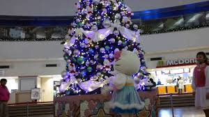 Decorative Christmas Tree Gate by Hello Kitty Christmas Tree At Gate City Ohsaki Raw Video Youtube