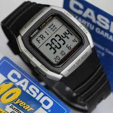Jam Tangan Casio Karet tangan casio digital w 96h tali karet original