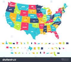Map Of Us Capitals United States And Capitals Map Usa Map States And Capitals