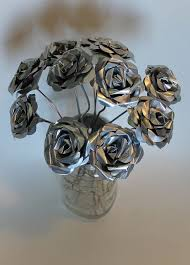 best 25 metal flowers ideas on tin flowers soda can