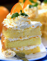 orange sponge cake recipe filipino recipes portal