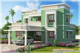 home design desktop indian flat roof villa in 2305 sqfeet kerala home design and new