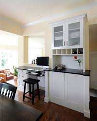 design ideas for kitchens 9 ways to install a computer station in your kitchen eatwell101