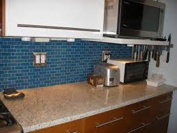 blue tile backsplash kitchen subway tile kitchen backsplash pictures in a gallery of possibilities