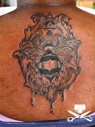 queen bee tattoo hautedraws