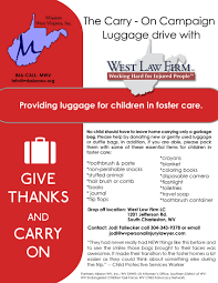 donate luggage to children in foster care win chance for 100