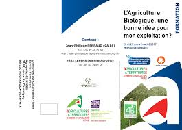 chambre d agriculture vienne calaméo tract formation bio mars 2017