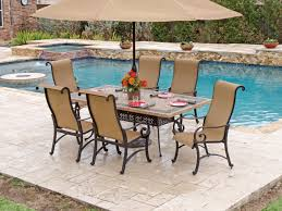 Mosaic Patio Table And Chairs Top Patio Table Set Patio Furniture Conversation Sets