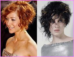 history on asymmetrical short haircut asymmetrical short curly haircuts 32 jpg stylesstar com