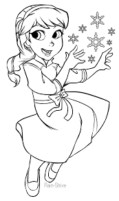 elsa coloring pages images template pictures kids