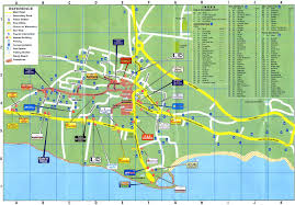 street map of ayia napa road map of ayia napa area maps of cyprus