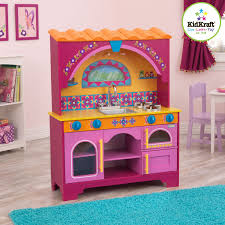 kidkraft island kitchen amazon com kidkraft dora the explorer kitchen toys u0026 games