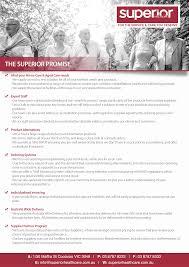 Health Care Services Australia Health The Superior Promise Superior Health Care Australia Pty Ltd