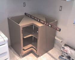 how to install lazy susan cabinet installing corner base cabinet with lazy susan slworking2 flickr