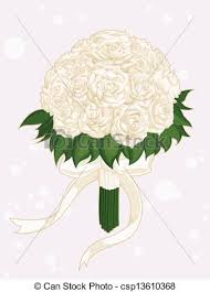 wedding flowers drawing clip vector of wedding flower bouquet a vector image of