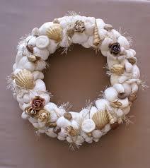 seashell wreath christmas seashell decorations wedding decor 11
