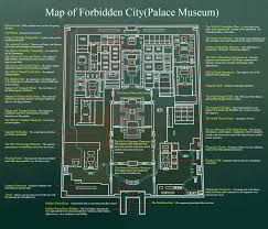 Map Of The Dead Beijing Travel Map China Travel Map Of Forbidden City