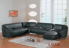 Simple Black Sofa Set Elegant Black Sofa Set For Bright White Living Room Color Scheme