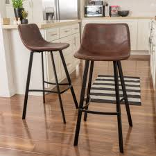 set of 2 rex faux snake skin brown bar stools brown bar stools