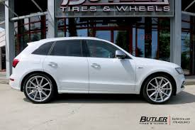 Audi Q5 Off Road - audi q5 with 22in vossen vfs1 wheels exclusively from butler tires