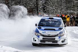 subaru drift snow sno drift rally opens 2014 rally america national championship season
