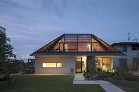 Hip And Valley Roof Design A Modern Hipped Roof House In Japan Home Design Lover