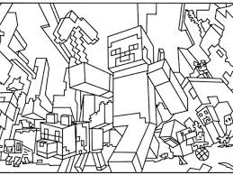 coloring pages amazing minecraft color ghast coloring pages