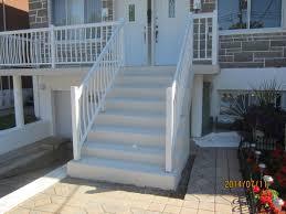 revetement pour escalier exterieur resurfaçage de béton escalier perron piscine monsieur crépi