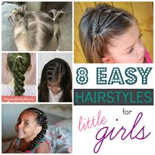 Quick Easy Hairstyles For Girls by 8 Easy Hairstyles For Little Girls Remodelaholic Bloglovin U0027