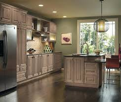 Light Cherry Kitchen Cabinets Cherry Cabinets With Wood Floors Ghanko