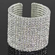 silver rhinestone bracelet images Bracelets fashion and trendy jpg