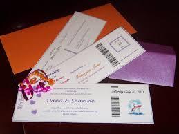Cruise Wedding Invitations Dai S Wedding Raves U0026 Rants